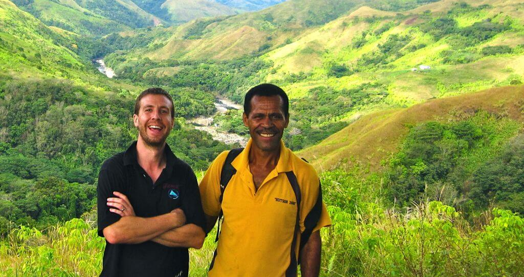 Matt and Mr Roko, Nubutautau village